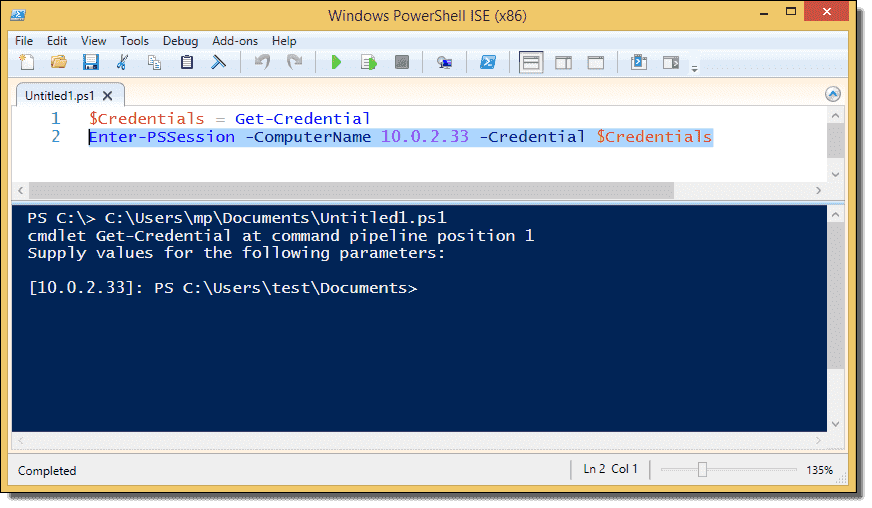 Enable PowerShell Remoting on a standalone (workgroup