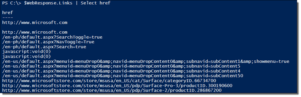PowerShell Invoke-WebRequest – Parse and scrape a web page – 4sysops