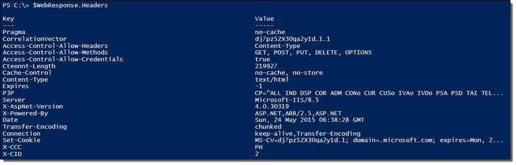 PowerShell Invoke-WebRequest – Parse and scrape a web page