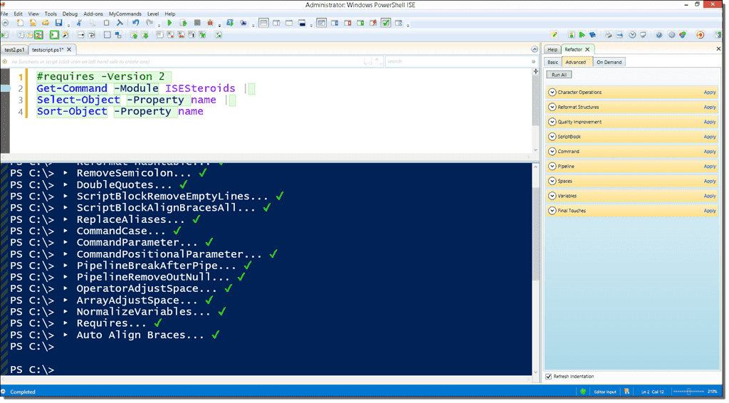 Take your PowerShell scripting to the next level with ISESteroids ...