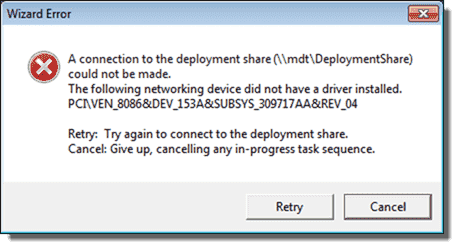 The following network device did not have a driver installed