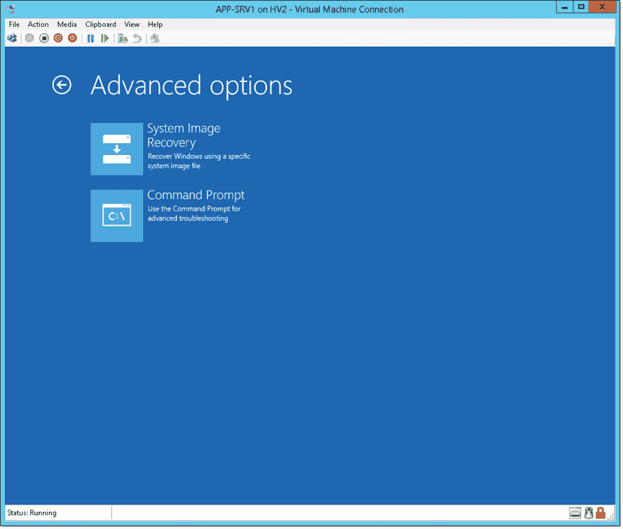How to P2V Windows Server 2012 R2 with UEFI and a GPT disk