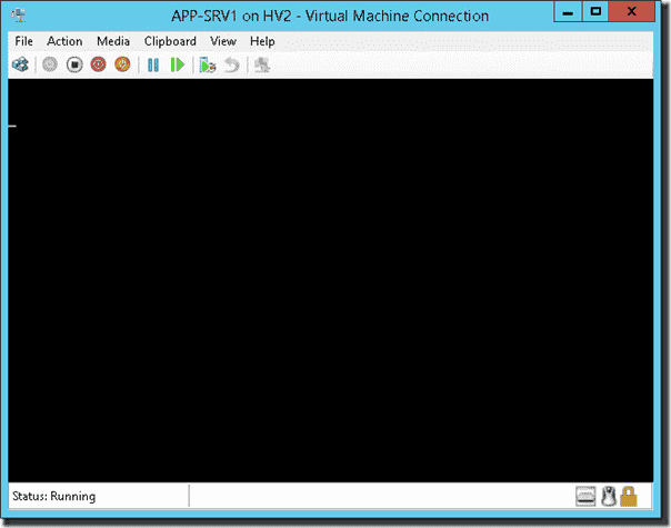 Disk2vhd converted Server 2012 R2 with blinking cursor that won't boot