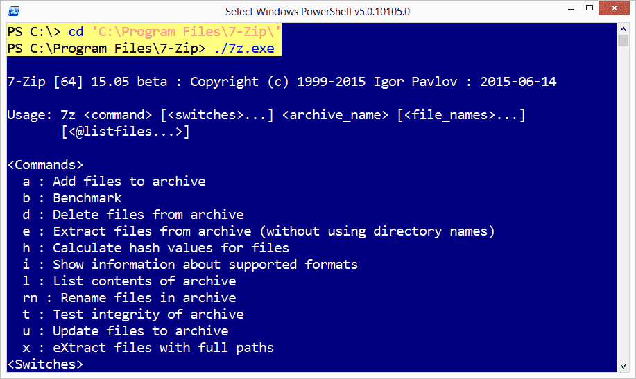 Use PowerShell to execute an exe – 4sysops