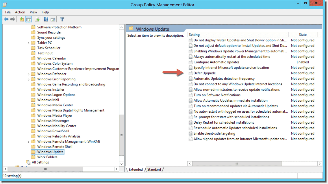 Download Windows 10 ADMX templates and Group Policy Excel