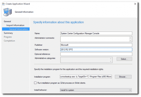 Deploying the SCCM Console for Configuration Manager 2012