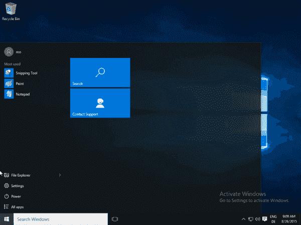 Windows 10 Enterprise LTSB lacks apps