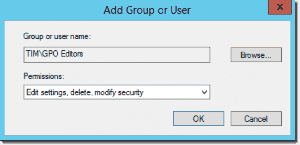 Ad Group or User