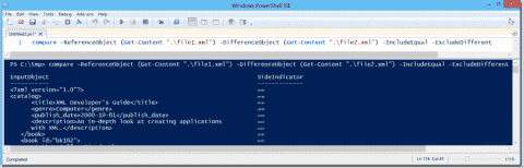 Compare data with PowerShell