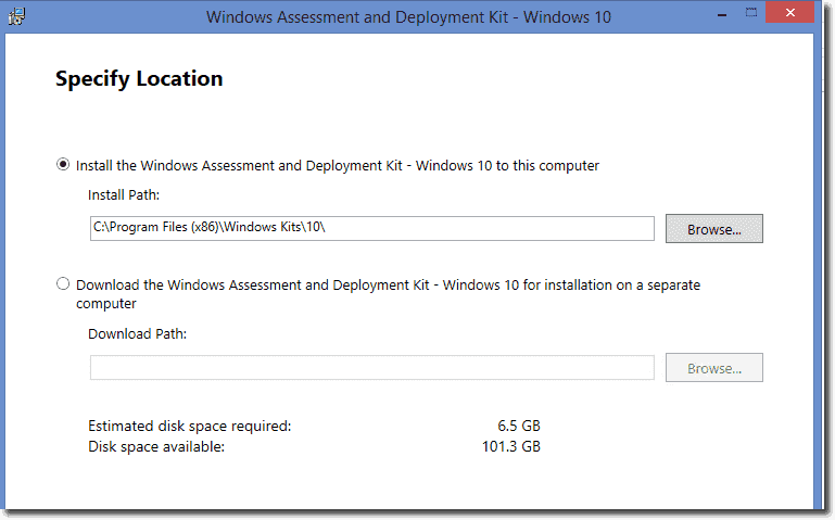 Windows 10 adk new features and deployment 4sysops for Installing new windows