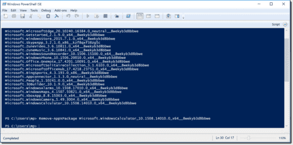 Remove Windows app with PowerShell
