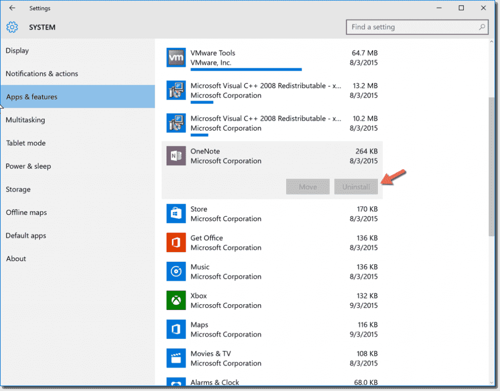 How to uninstall all default Windows apps on Windows 10