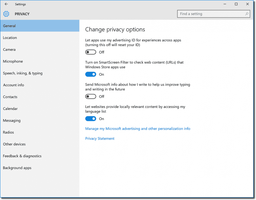 disable windows defender smartscreen windows 10 group policy
