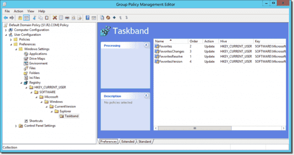 Removing Store app from the Taskbar with Group Policy