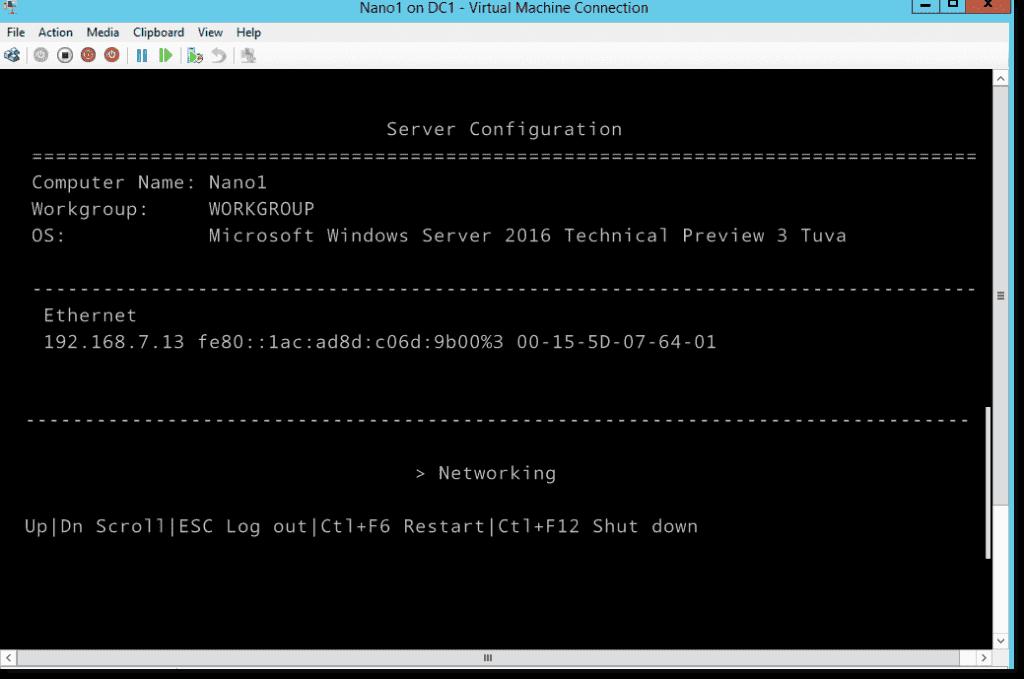How to install Nano Server, step by step – 4sysops