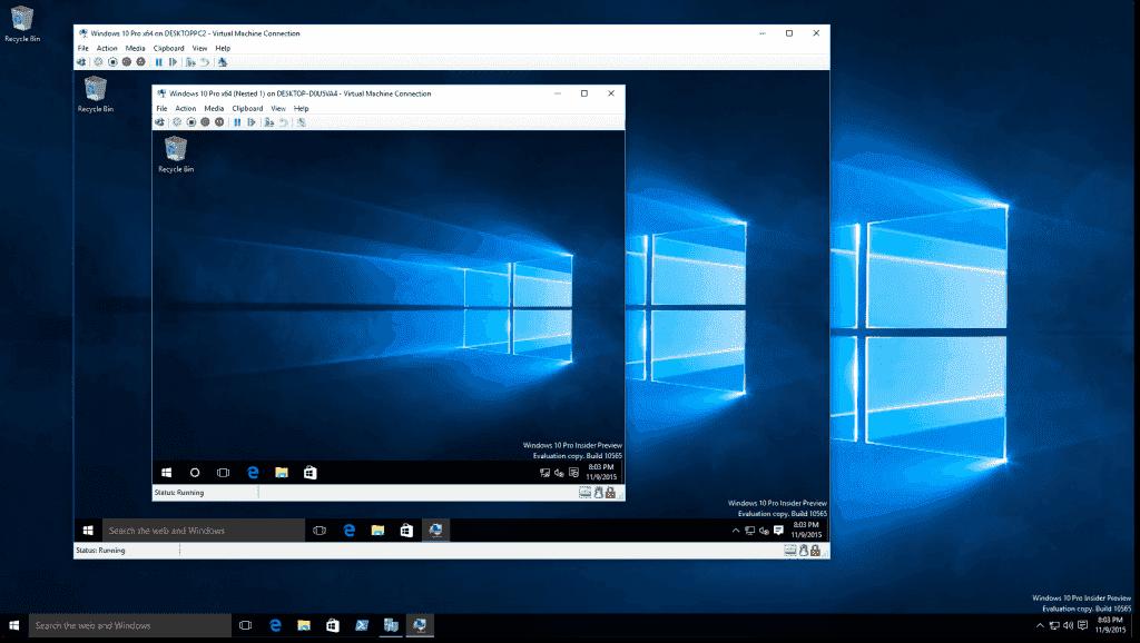 does windows 10 a machine