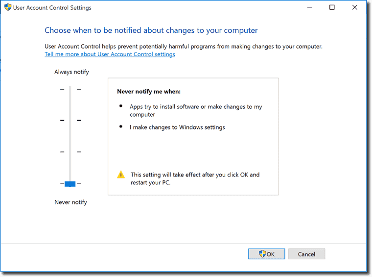 Why the built-in administrator account can't open Edge (and a lesson