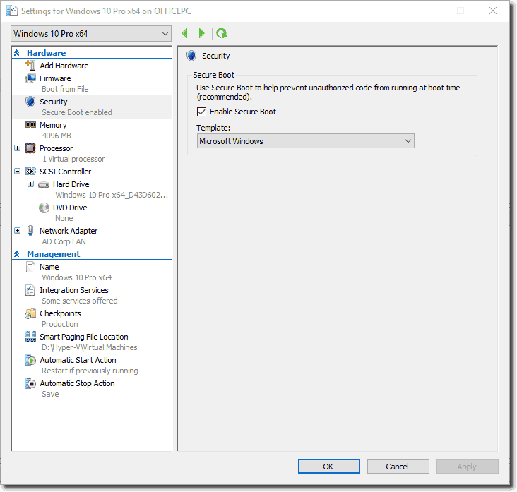 Windows 10 Hyper-V Fall Update adds virtual TPM and nested