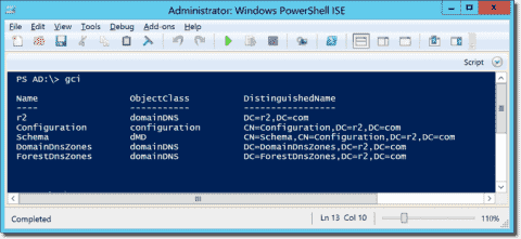 Mount Active Directory as a drive in PowerShell