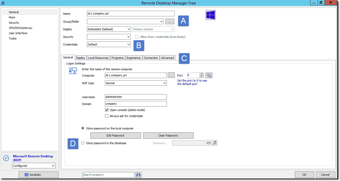 Free RDP Client – Remote Desktop Manager 11 – 4sysops