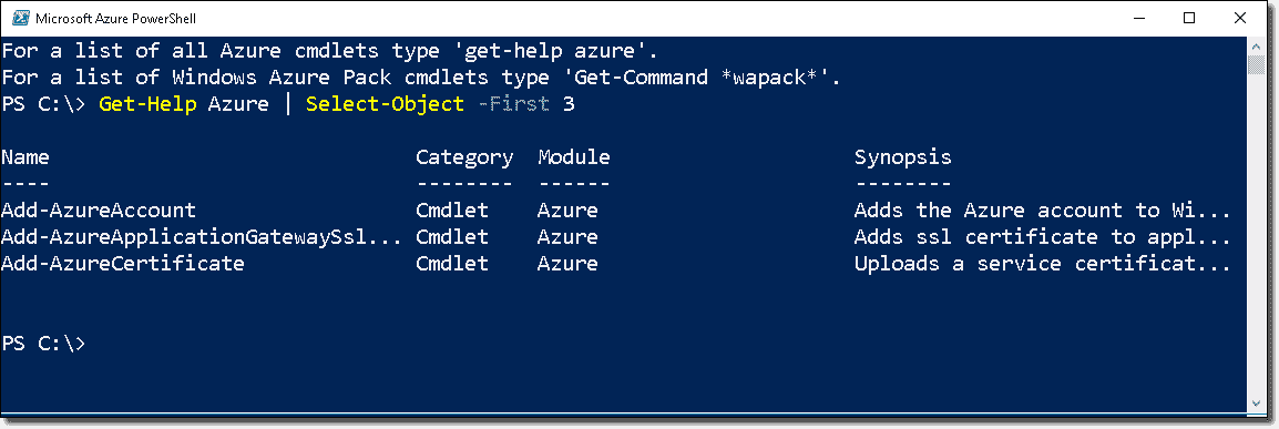 Getting started with Azure PowerShell – 4sysops