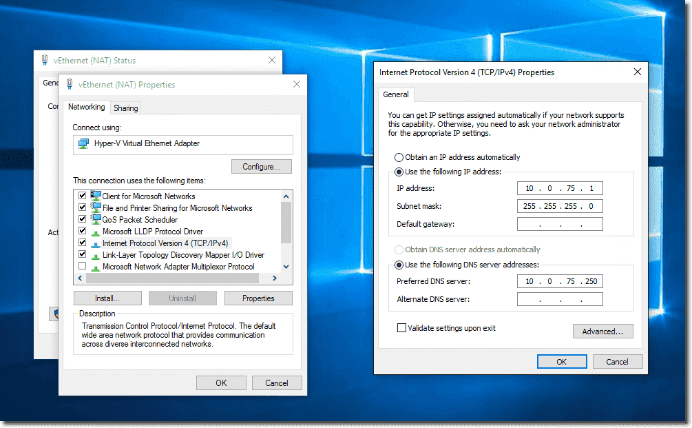 How to access Hyper-V VMs behind native NAT – 4sysops
