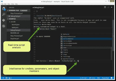 Visual Studio Code - Microsoft's new free code editor