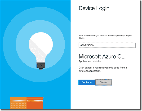 Azure CLI uses a browser-based authentication method