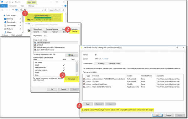 I don't suggest changing the SRP's permissions on a production computer