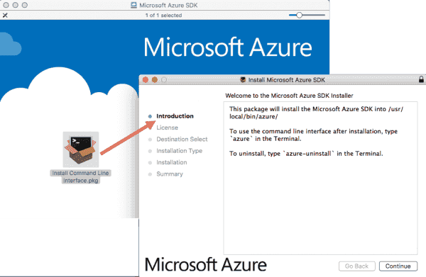 Installing the Azure CLI on my Mac