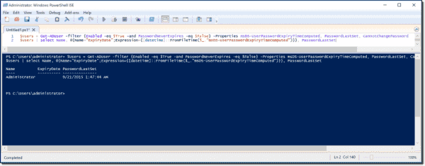 net user change password powershell