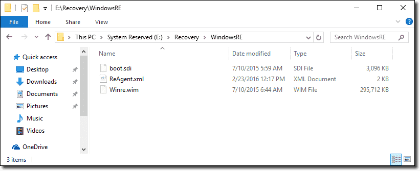 The System Reserved Partition in Windows 10 – 4sysops