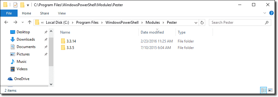 Using multiple module versions in PowerShell 5 – 4sysops