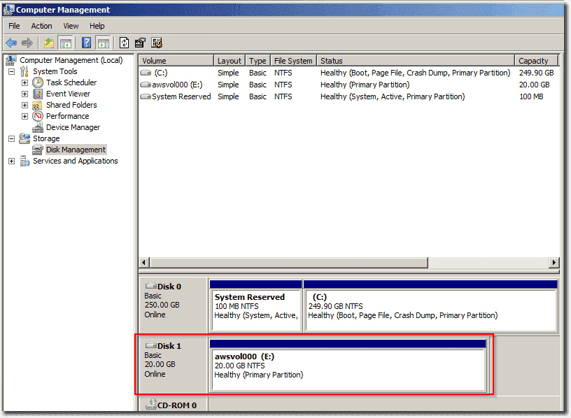 how to initialize a drive in disk management
