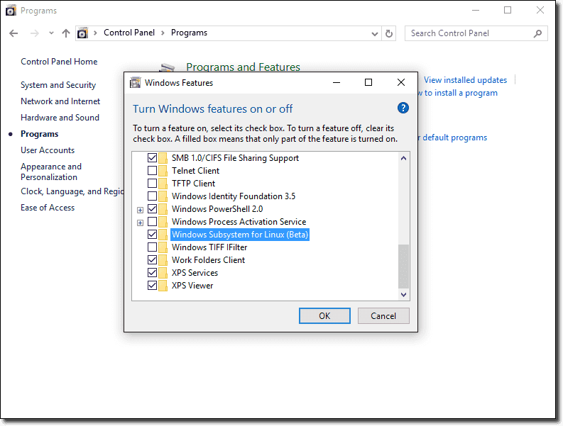 Install Bash on Windows 10 – 4sysops