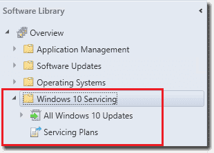 Windows 10 Servicing in SCCM