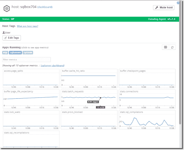 You can extend the Datadog default metrics by leveraging the open-source APIs.