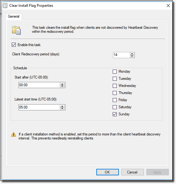 Managing inactive and obsolete clients in SCCM Current Branch (16XX