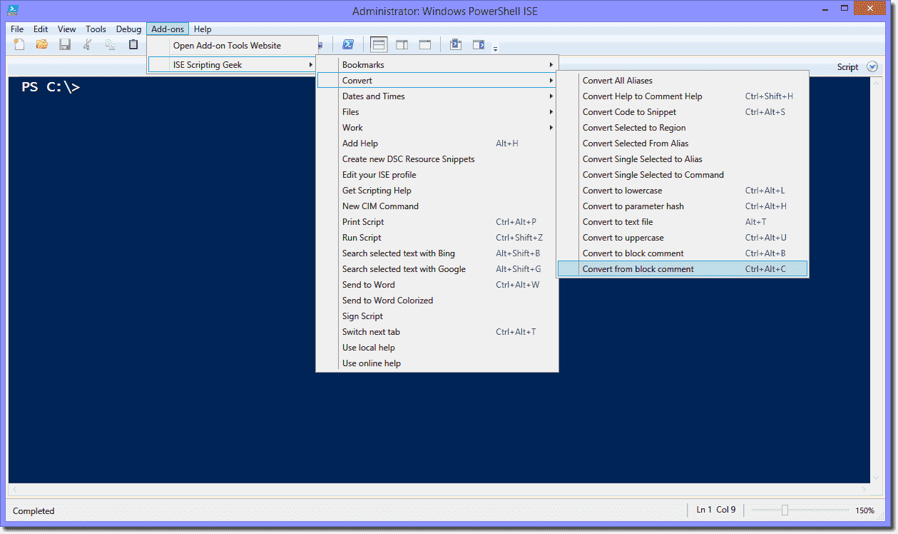 My favorite Windows PowerShell ISE add-ons – 4sysops