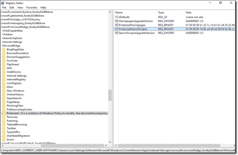 Managing Edge with Group Policy and Roaming Profiles