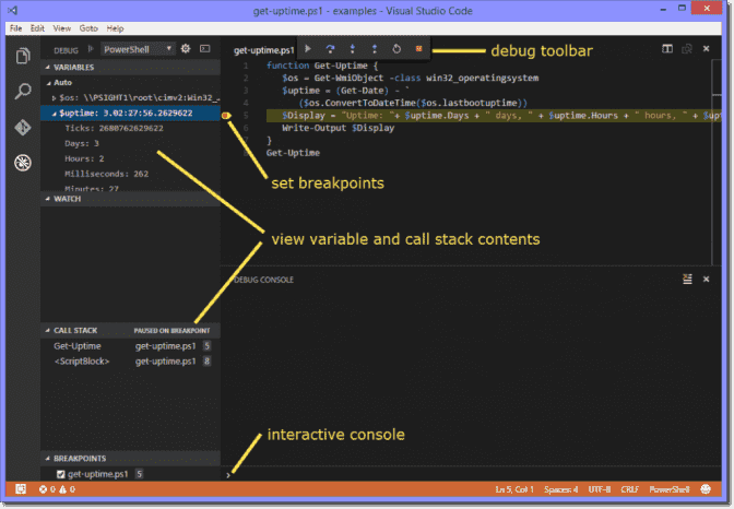 Visual Studio Code (VSCode) as PowerShell script editor – 4sysops