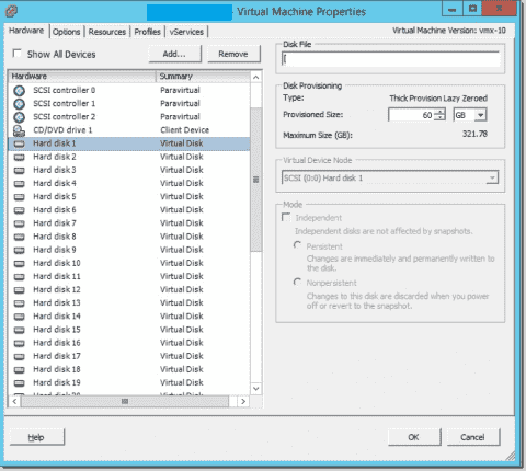 Map VMware virtual disks and Windows drive volumes with a PowerShell script