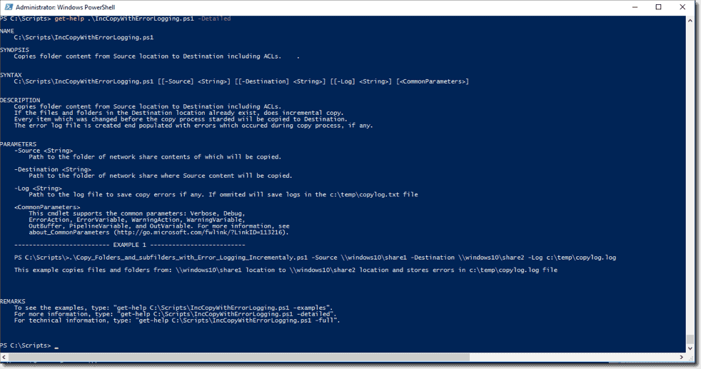 writing a powershell script tutorial