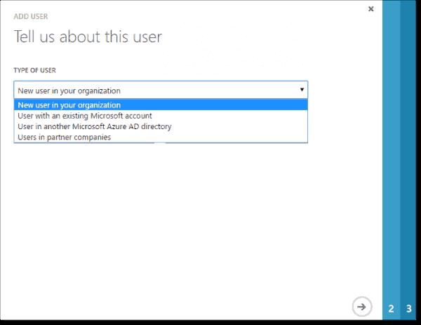 Adding an external user to AAD