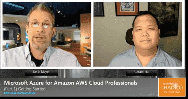 Microsoft Azure for Amazon AWS cloud professionals