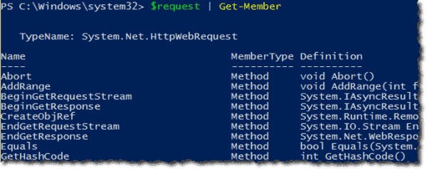 Using the WebRequest class under the System.Net namespace