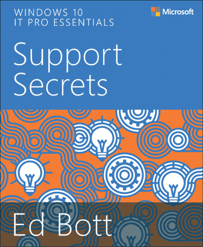 New free eBook – Windows 10 IT Pro Essentials Support Secrets