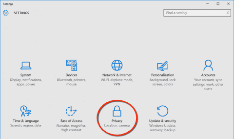 New wiki doc about Windows 10 privacy settings