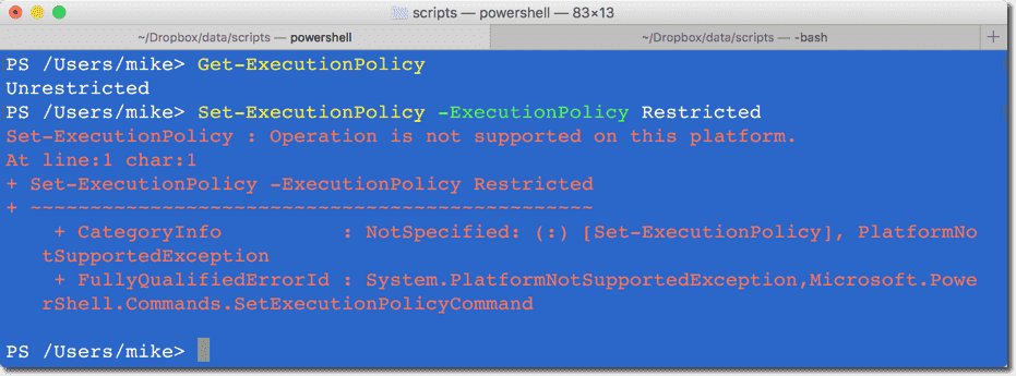 Install PowerShell on Mac OS X – 4sysops