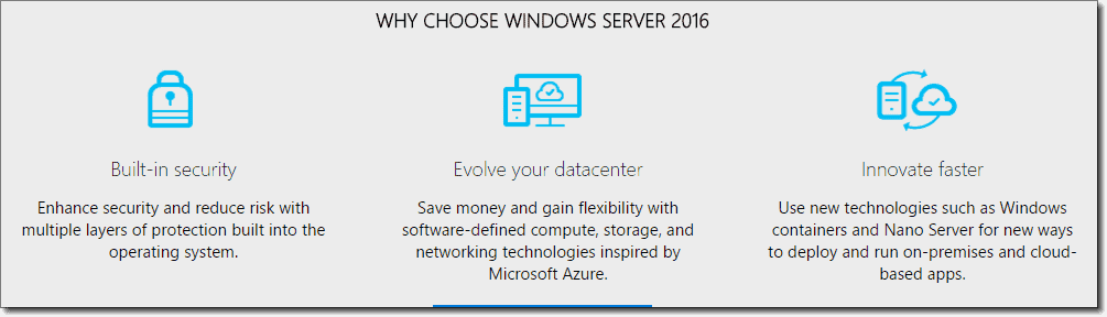 Layered security is Microsoft's top priority in Server 2016